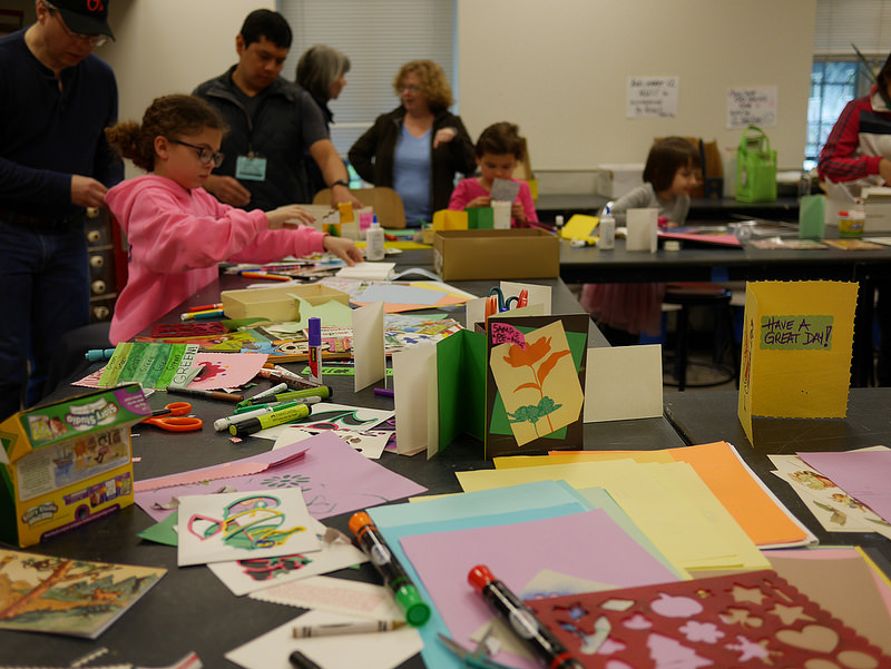 Kids crafts at last year's GreenFest