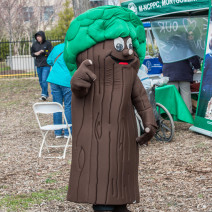 The Montgomery Parks mascot
