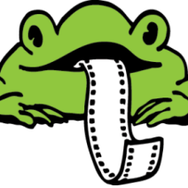Environmental Film Festival Logo Frog
