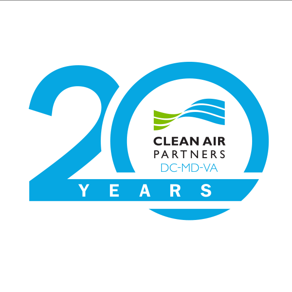 Clean Air Partners 20 Year Logo