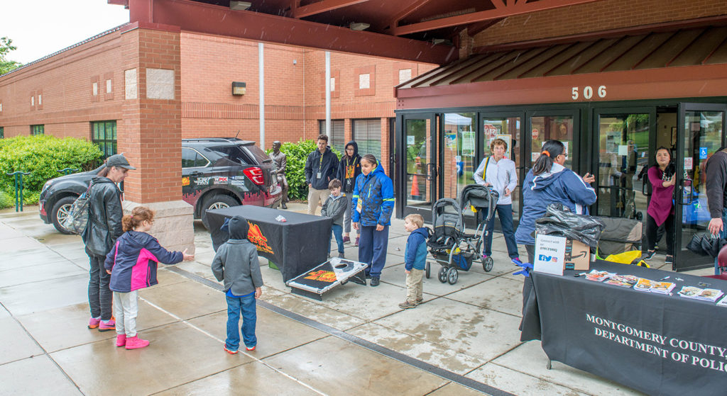 MC Police and El Zol welcomed guests to GreenFest 2017