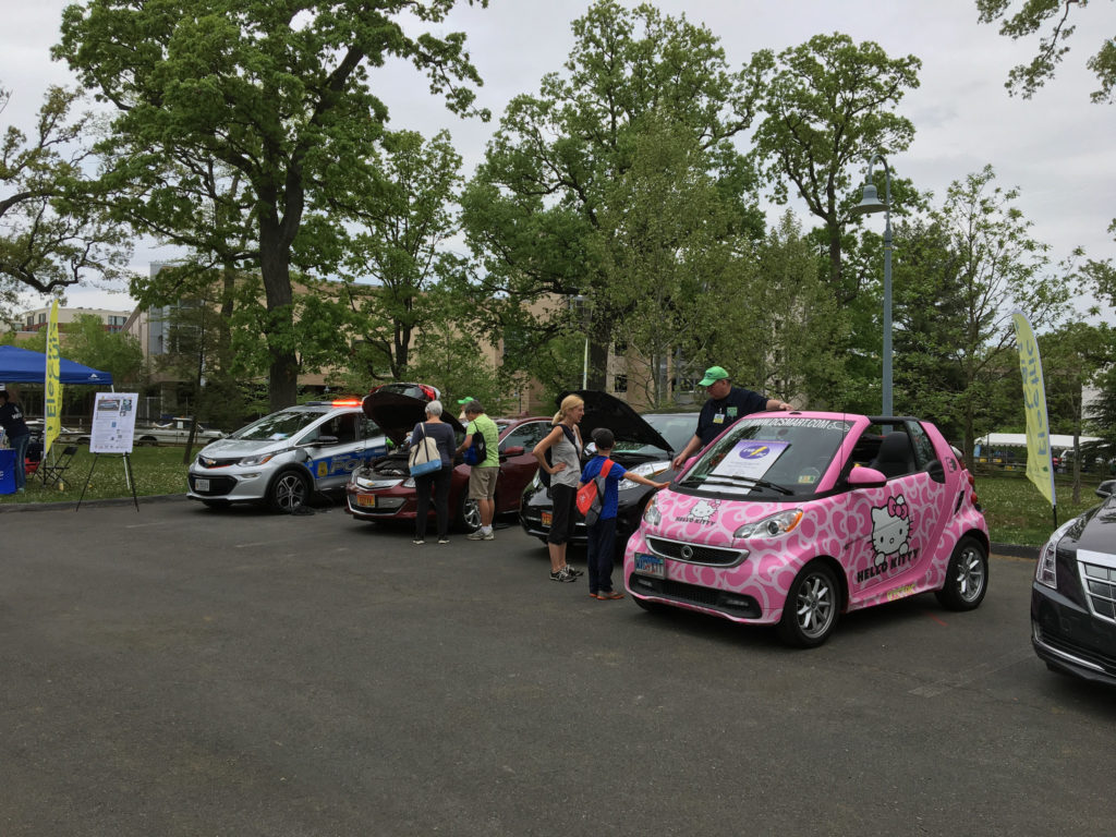 Electric vehicles at GreenFest